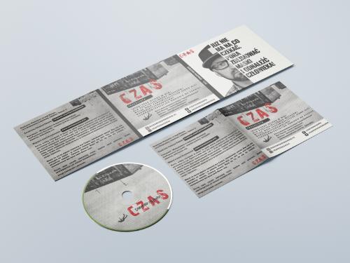 """Dobromir """" DobryMan"""" Makowski - Czas - CD cover2"""